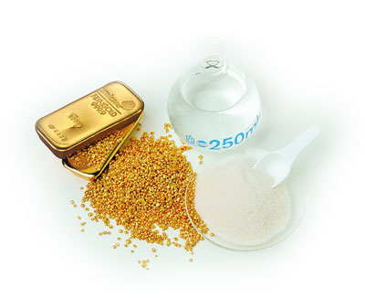 What is gold potassium cyanide?